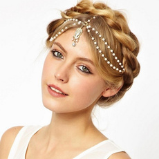 Head, Jewelry, Chain, Tassels