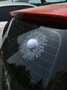 Funny, Golf, jokesampprank, Car Sticker
