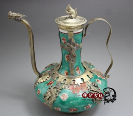 Phoenix, Chinese, tibet, Porcelain