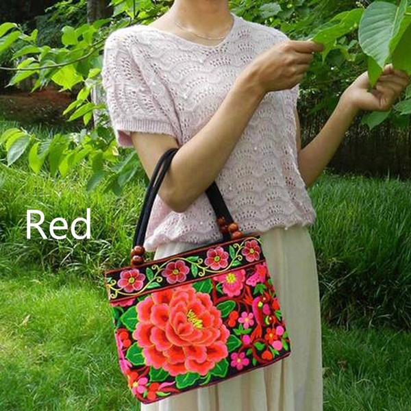 national, Shoulder Bags, embroiderybag, vintage bag