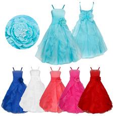 party, ballgownpromdresse, strapsdres, flowergirldres