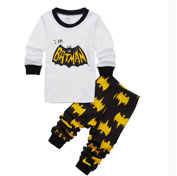 babycartoonpajama, babysupermancostume, Sleeve, Long Sleeve