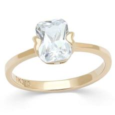 stainlesssteeltusk316, gold, Engagement Ring, Emerald