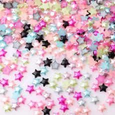 phonedecorationdiy, Star, pearlsbead, pearls