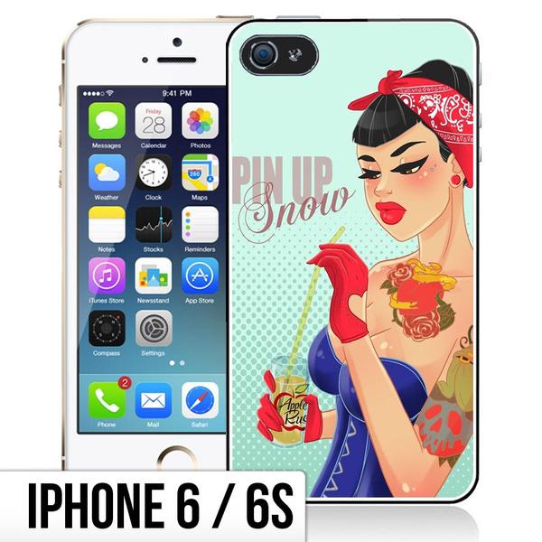 Coque iPhone 6/6S Princesse Disney - Blanche Neige PinUp | Wish
