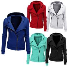 hooded, Blazer, Sleeve, Long Sleeve