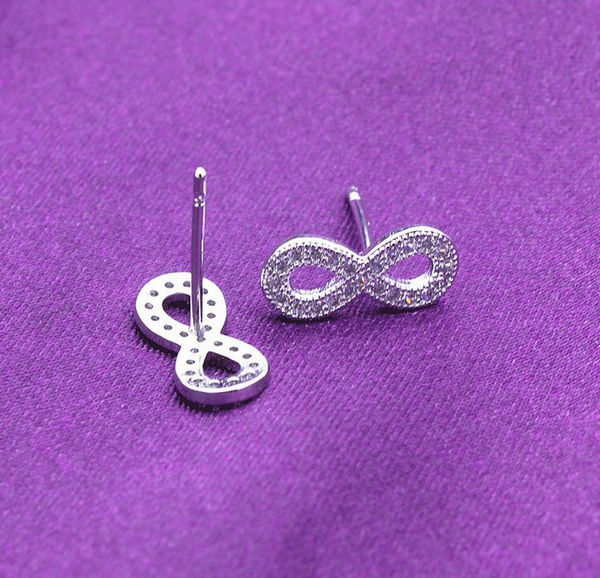 Sterling, Fashion, lover gifts, Stud Earring