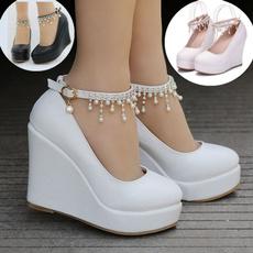 whiteplatformshoeshighheel, platformheel, Womens Shoes, wedgesheel