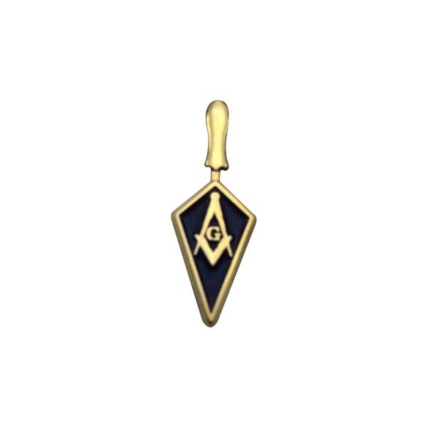 Blues, goldplated, masoniclapelpin, Jewelry