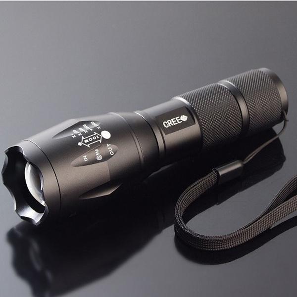 Flashlight, led, camping, Waterproof