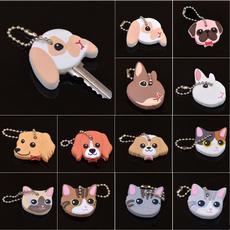 case, cute, Head, Key Chain