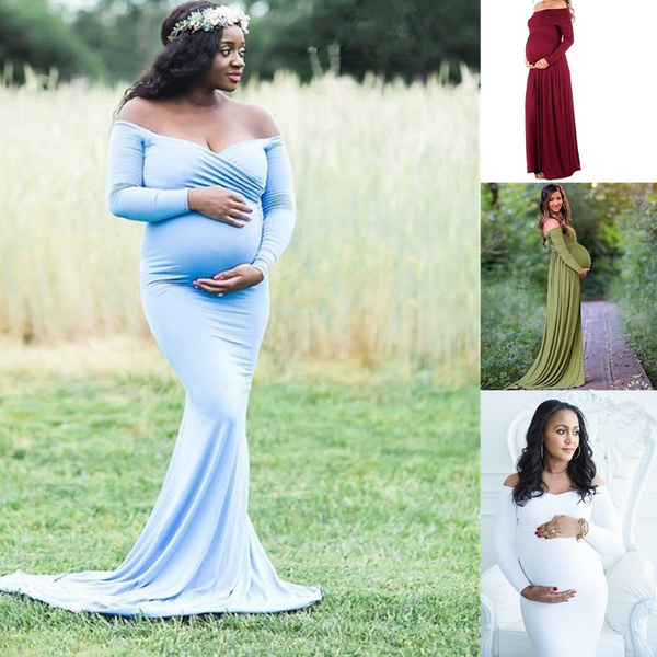 gowns, Sleeve, preganteveningdres, long dress