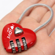 Heart, redheartshaped, Gifts, Luggage
