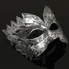romangladiatormask, Masquerade, Masks, Metal