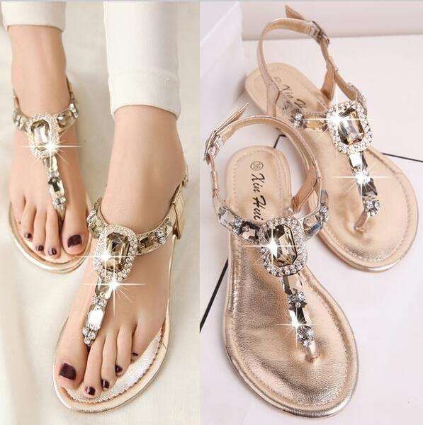 Women Sandals Flat Summer Shoes
