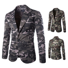 mensslimjacket, Casual Jackets, mensdresssuit, singlebucklesuit