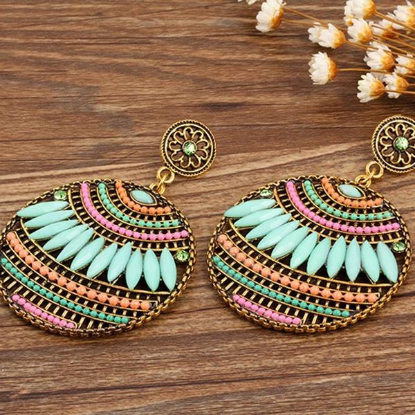 Elegant, boho, Jewelry, Colorful