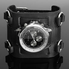 Moda, leather strap, leather, Watch