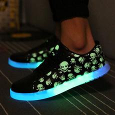casual shoes, Fashion, led, usb
