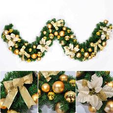 bowknot, xmasball, Flowers, Christmas