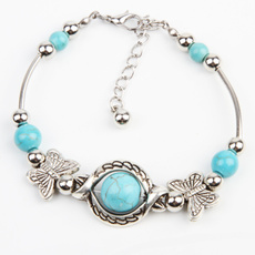 butterfly, Turquoise, Fashion, butterflybracelet
