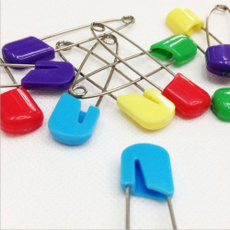 Plastic, Head, craftpin, Pins
