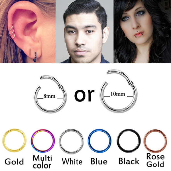 Hoop Earring, Jewelry, septumring, titaniumpiercing
