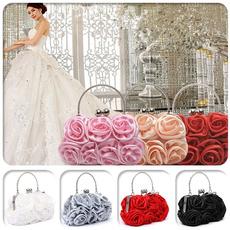 women bags, Floral, Party Evening Bag, Messenger Bags