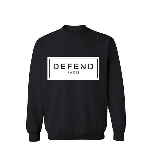 Fashion, printed, pullover hoodie, Sleeve