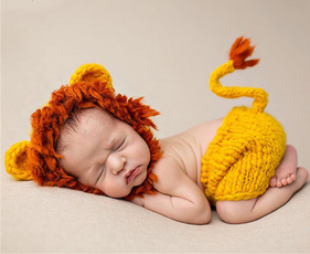 newbornphotographyanimal, cute, babylioncostume, babyphotopropoutfit