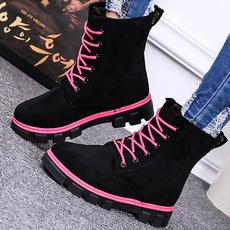 Fashion, velvet, Winter, short boots