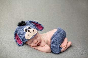 newbornphotographyanimal, Fashion, donkeyphotoprop, babyphotopropoutfit