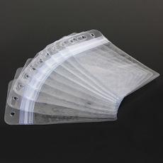 badgeholder, vertical, Waterproof, Clear