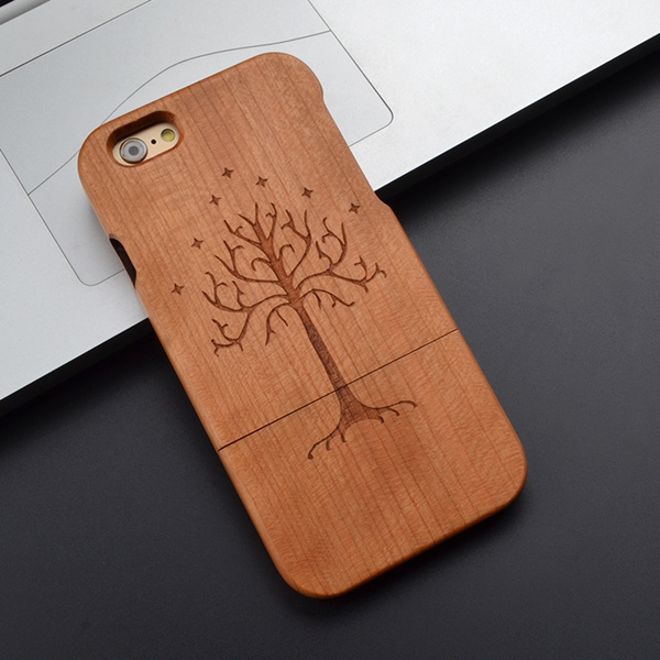 Lotr White Tree of Gondor Natural Wooden Cherry Phone Case for Iphone 7 6 plus 6splus 6 6s Samsung S7S6 S5 Note 5 4 Z0098 | Wish