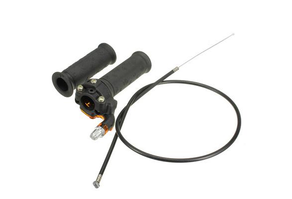 130 cm Speed Throttle Kabell/änge Universal Motorcycle Accelerator Elektroroller Twist Speed Gasgriffregler mit 3 Dr/ähten Motorrad Gasgriffe Twist Speed Gashebel