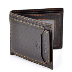 leather wallet, Fashion, man purse, PU Leather