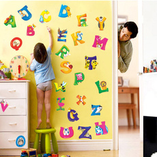 cute, Decor, alphabetsticker, Home & Living