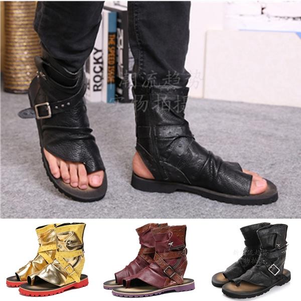 Toe Summer Shoes Men Casual