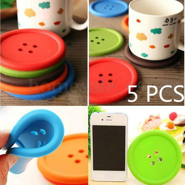 cute, Coasters, Mats, Colorful