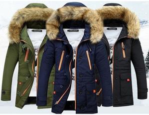 warmjacket, Winter, hoodedjacket, cottonjacket