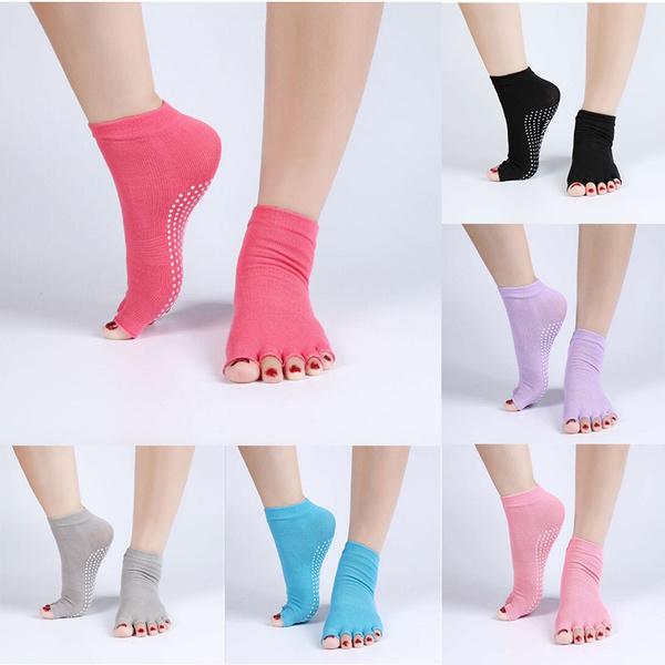 yogasock, Cotton Socks, Yoga, fivefingersock