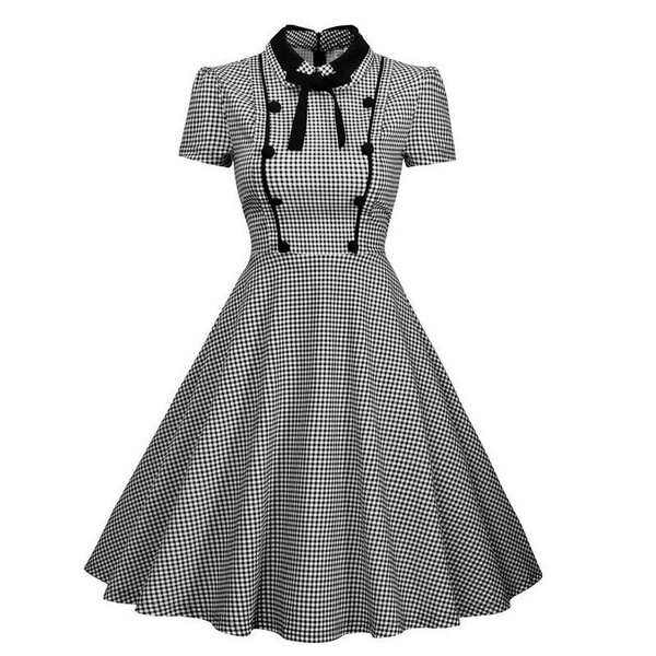 50sdressvintage, Swing dress, Shorts, Vintage