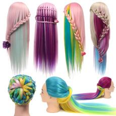 hair, Head, Colorful, longhairtraininghead