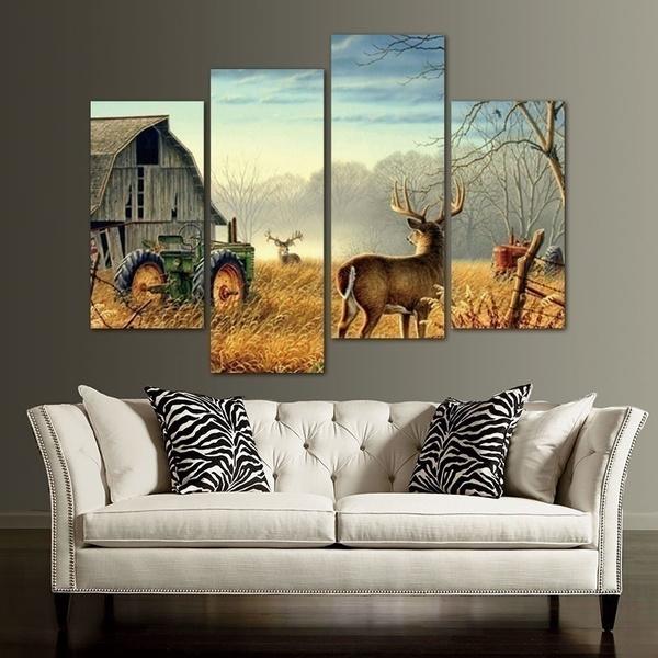 Decor, Farm, art, canvaspainting