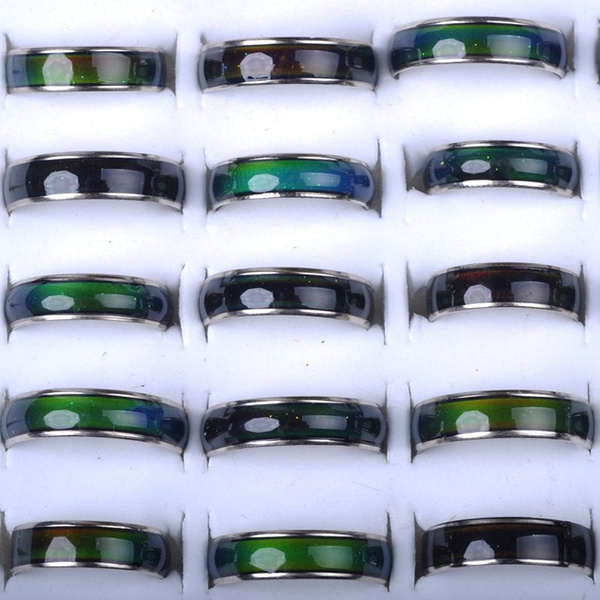 emotion, colorchangemoodring, Temperature, plated