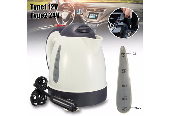 Car Heats Up Water Heater Boiler Tea Coffee Soup Warmer 24V Input Only