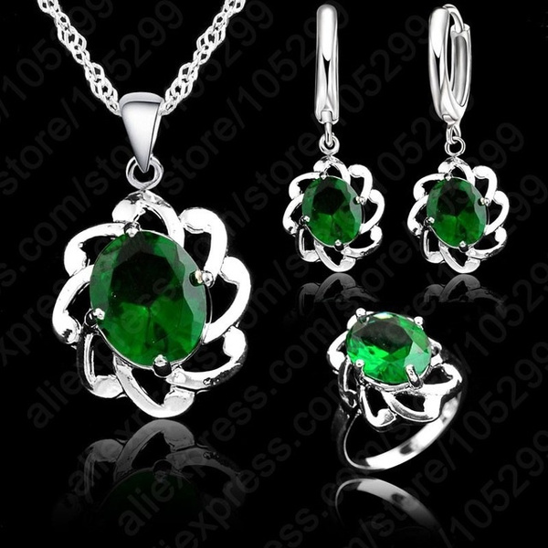 Sterling, Jewelry Set, 925 sterling silver, Jewelry
