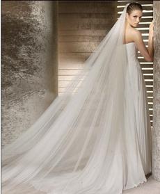layer, Bridal wedding, two, long