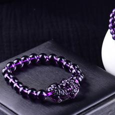 Crystal Bracelet, Jewelry, loverbracelet, purple