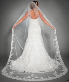 longbridalveil, Lace, lacebridalveil, Bridal wedding